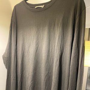 Vince men's grey sweater long sleeve shirt xxl